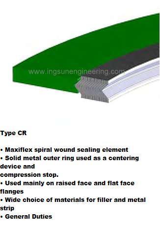 Klinger Spiral Wound Gasket Type CR